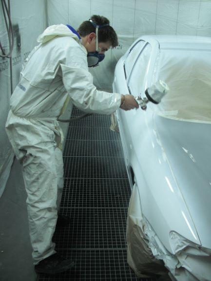 peinture véhicule