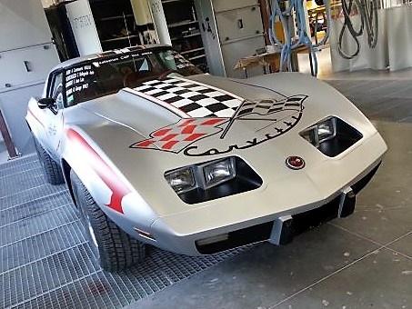 CFA carrosserie automobile - Corvette avec peinture personnalisée