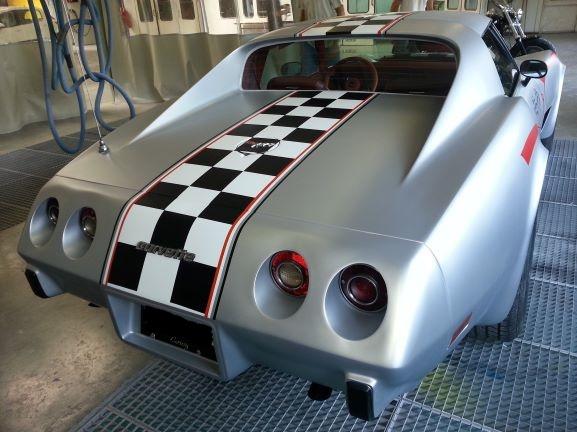 Corvette vue arrière