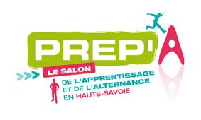 Logo du salon prep'A, salon de l'alternance en haute-Savoie